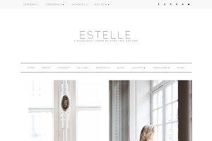 Estelle - Feminine WordPress Theme
