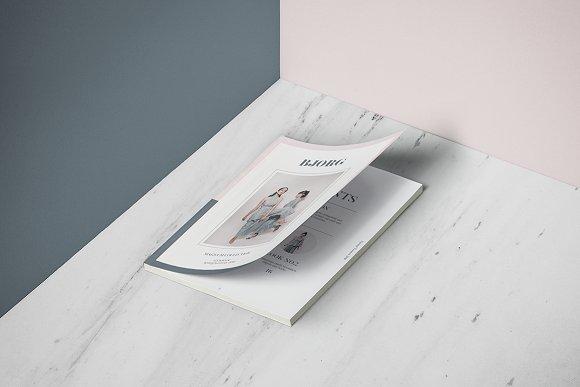 Bj?rg Lookbook Template-Graphicriver中文最全的素材分享平台