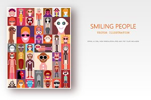 Smiling People / Surprised People