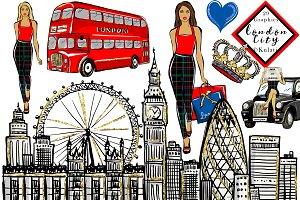 London City clipart / graphics