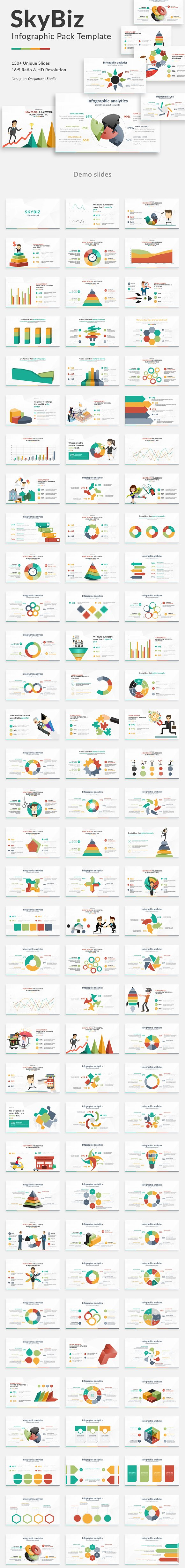 Skybiz Infographic Pack Powerpoint
