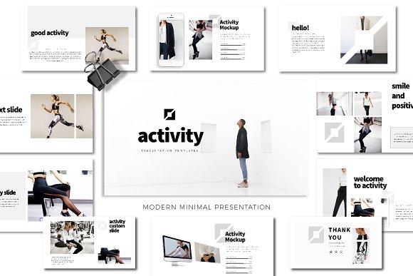 Activity Minimal Presentation