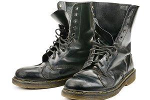 worn boots