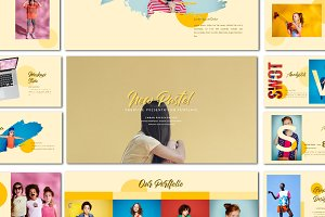 New Pastel - Presentation Template