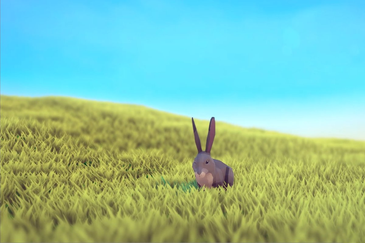 Poly Art Rabbit
