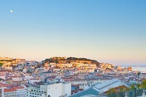 Panorama of Lisbon Portugal