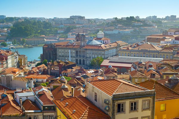 Architecture Stock Photos - Old Town of Porto, Portugal