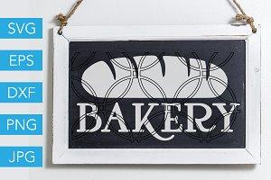 Bakery SVG Cut File Baker SVG