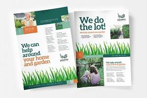 A4 Gardener Poster Template
