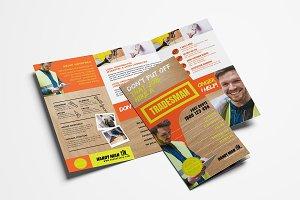 Handyman Brochure Template