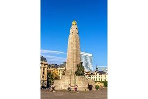 The Infantry Memorial of Brussels - Belgium