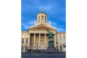 Place Royale - City of Brussels, Belgium