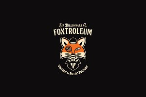Foxtroleum Logo Template