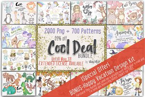Cool Deal Bundle Spring SALE 99%Off