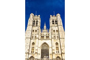 The Cathedral of St. Michael and St. Gudula in Brussels