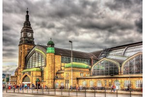 Hamburg central railway station - Germany
