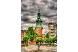 Ð¡hurch of St. George in Hamburg - Germany