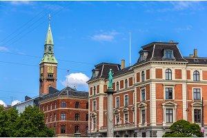 Buildings in Copenhagen city center - Denmark