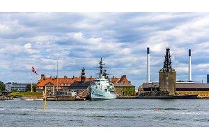 Holmen naval base in Copenhagen - Denmark