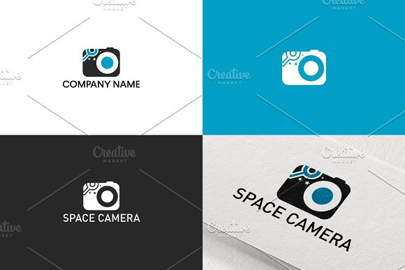 Camera Space Logo Design