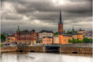 View of Stockholm sity center, Sweden