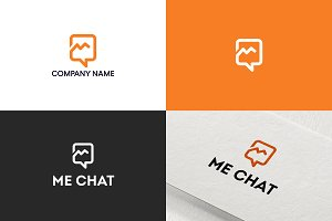 Chat logo design