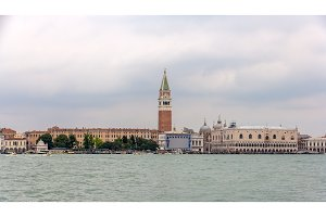 View of San Marco in Venice, Italy