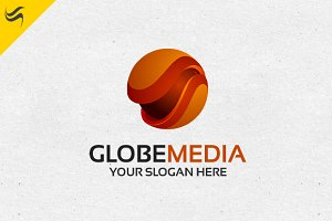 Globe Media - 3D Logo Template