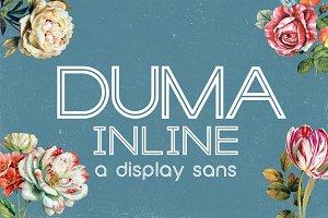 DUMA Inline Font