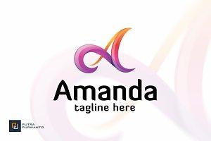 Amanda / Letter A - Logo Template
