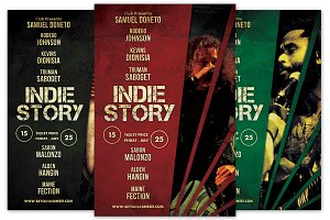 Indie Story Flyer