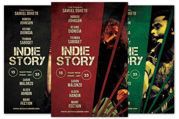 Indie Story Flyer