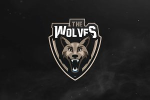 The Wolves Sport and Esports Logo