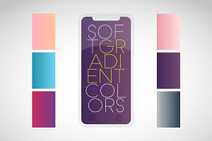 36 Soft Gradient Colors