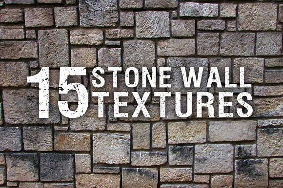 15 Stone Wall Textures