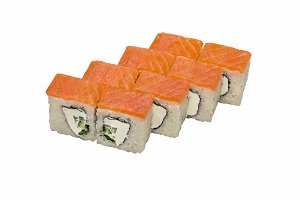 Philadelphia (roll), maki sushi.