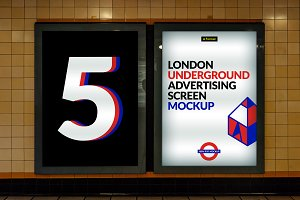 London Underground Screen Mock-Ups 3