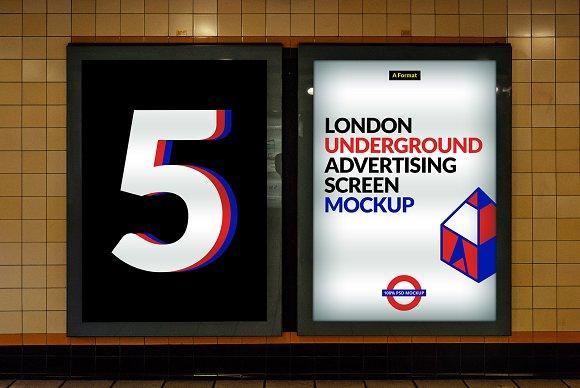London Underground Screen Mock-Ups 3