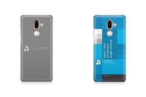 Nokia 7 Plus 3d IMD Case Mockup