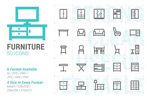 Furniture Mini Icon