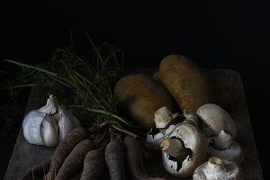 Dark Dutch Master Style Vegetables
