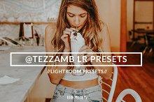Blogger @tezzamb inspired LR presets