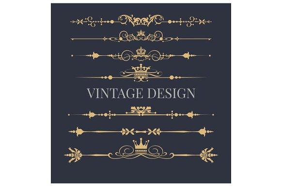 Design Logo Elements Royal