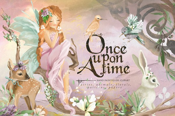 Illustrations and Illustration Products: Principesca - Once Upon A Time