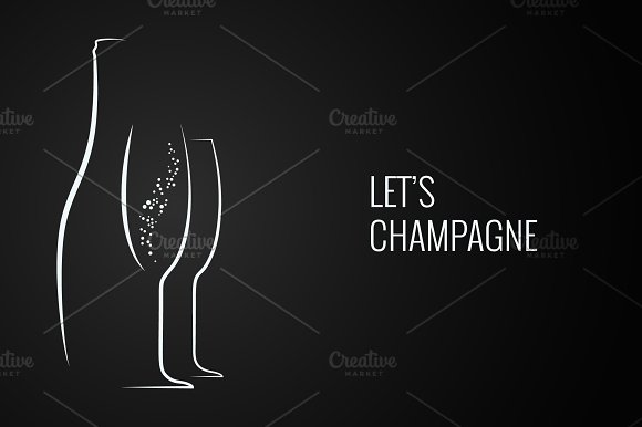 Champagne Bottle