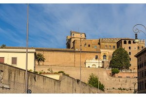 City walls of Vatican, Rome