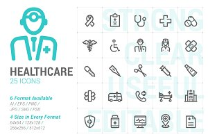 Healthcare Mini Icon