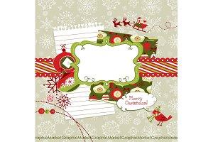 Christmas Scrapbook Embellishments