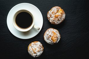 coffee with artisans muffins