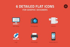 Icons for graphic designer